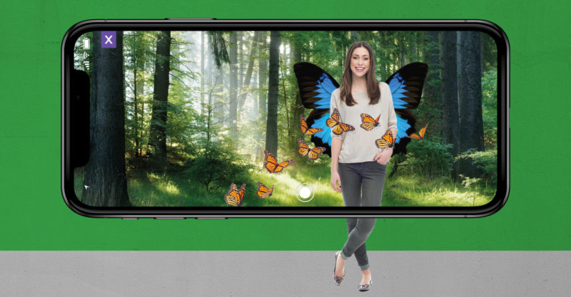 Great Exhibition of the North How Will You Fly? Augmented Reality App