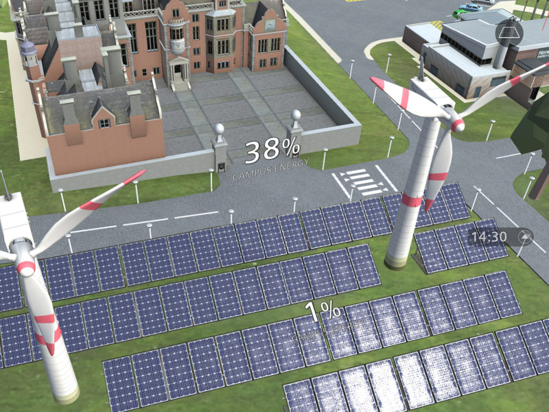 Siemens SEND Renewables Data Display