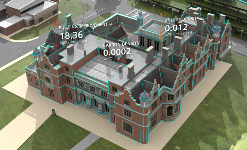 Siemens SEND Project Keele University Augmented Reality Campus
