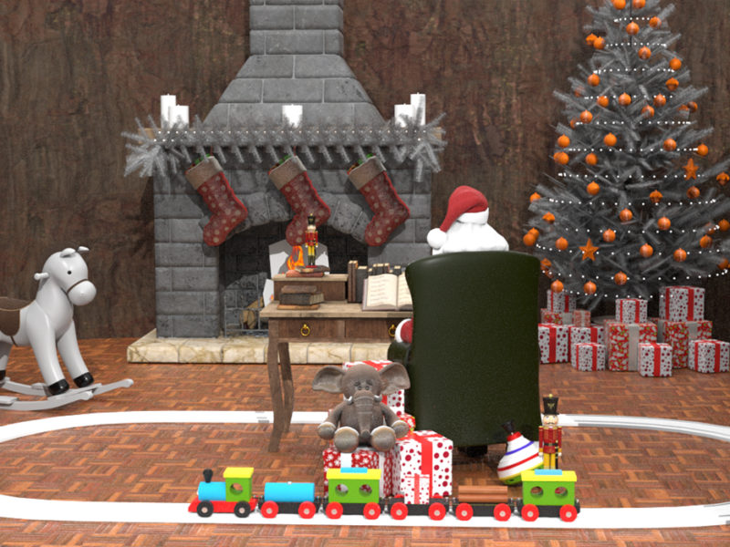 Intu Eldon Square Augmented Reality Santa's Grotto