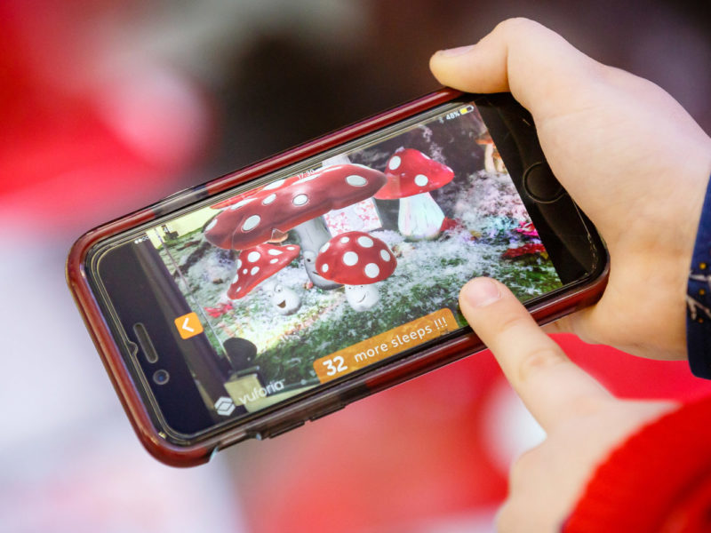 Intu Eldon Square Christmas Augmented Reality Experience