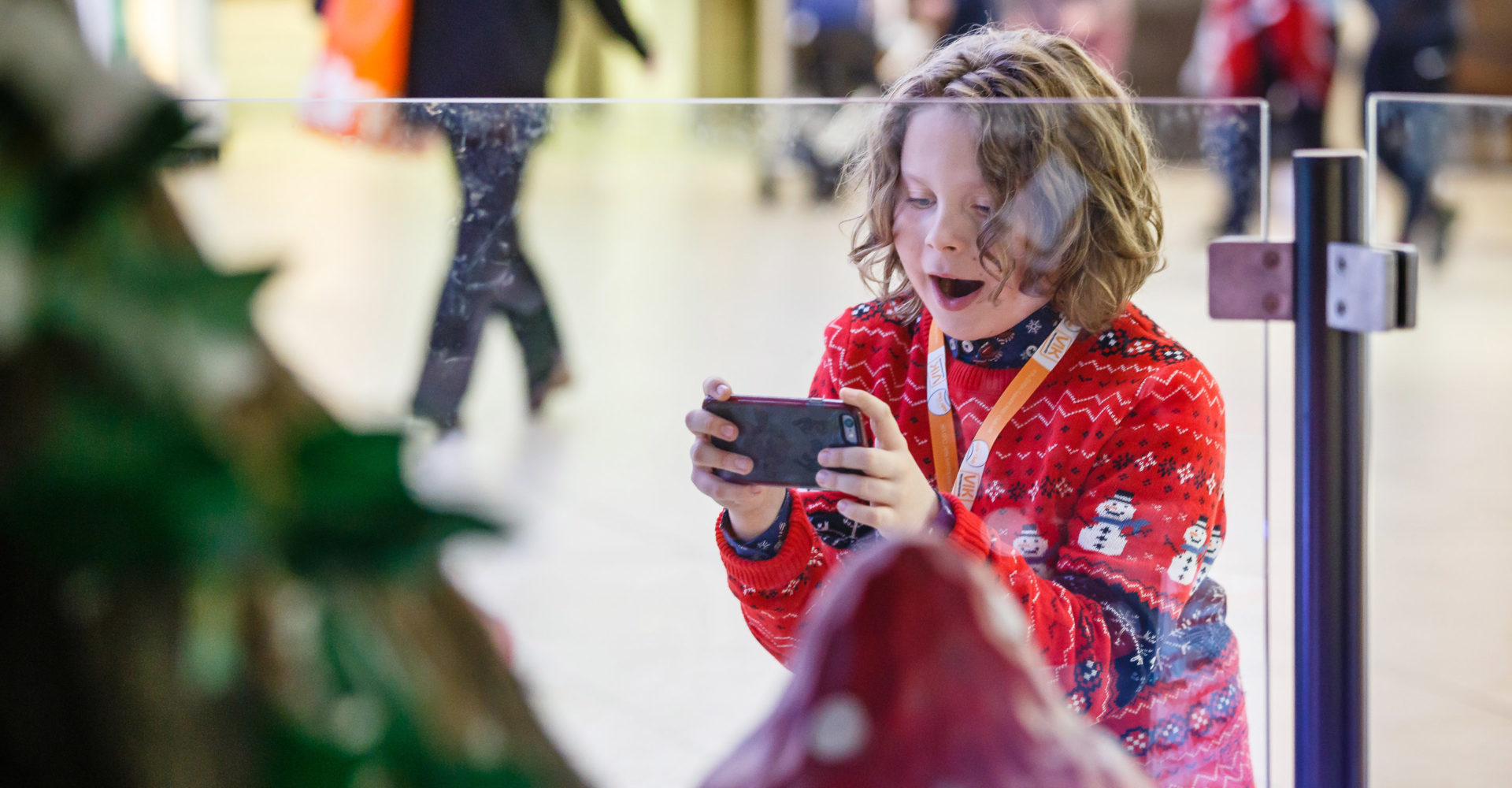 Eldon Square Christmas Augmented Reality Experience