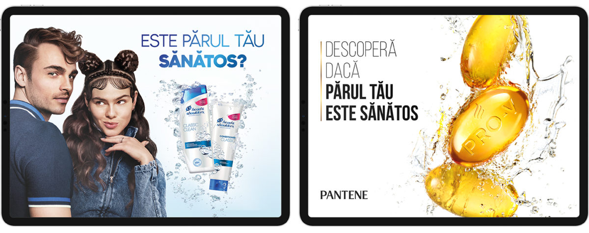 Pantene Head & Shoulders app routes