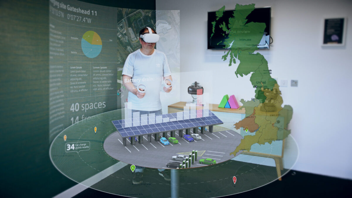 Mixed reality data immersion